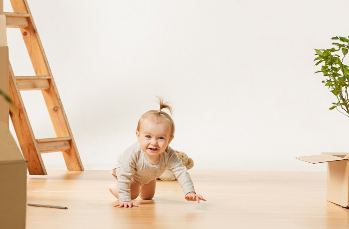 اهمیت کفپوش اتاق کودک