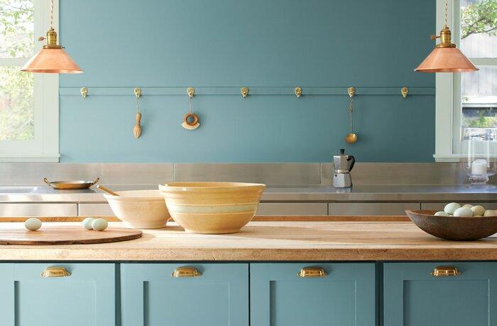 رنگ چیدمان آشپزخانه